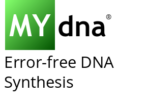 MYdna - Error-free DNA Synthesis